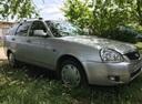 Подержанный ВАЗ (Lada) Priora, серебряный перламутр, цена 245 000 руб. в Крыму, хорошее состояние