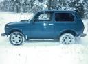 Подержанный ВАЗ (Lada) 4x4, синий , цена 177 000 руб. в Челябинской области, хорошее состояние