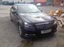 Подержанный Mercedes-Benz C-Класс, черный , цена 1 120 000 руб. в ао. Ханты-Мансийском Автономном округе - Югре, отличное состояние