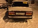 Подержанный ВАЗ (Lada) 2107, вишневый , цена 45 000 руб. в ао. Ханты-Мансийском Автономном округе - Югре, отличное состояние