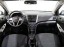 Подержанный Hyundai Solaris, черный, 2016 года выпуска, цена 599 000 руб. в Санкт-Петербурге, автосалон РОЛЬФ Октябрьская Blue Fish