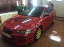 Подержанный Honda Accord, красный , цена 335 000 руб. в Омской области, хорошее состояние