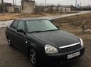 Подержанный ВАЗ (Lada) Priora, черный акрил, цена 200 000 руб. в Тверской области, отличное состояние