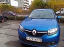 Подержанный Renault Sandero, синий , цена 560 000 руб. в Челябинской области, отличное состояние