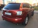 Подержанный Mazda CX-7, вишневый , цена 580 000 руб. в Челябинской области, хорошее состояние