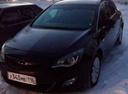 Подержанный Opel Astra, черный , цена 450 000 руб. в республике Татарстане, хорошее состояние