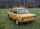 Подержанный ЗАЗ 968, желтый , цена 16 000 руб. в Архангельске, плохое состояние