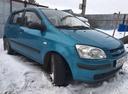 Подержанный Hyundai Getz, голубой , цена 165 000 руб. в Челябинской области, хорошее состояние