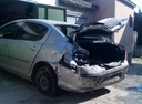 Подержанный Peugeot 407, серебряный , цена 190 000 руб. в Крыму, битый состояние