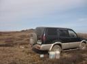 Подержанный Nissan Mistral, черный , цена 300 000 руб. в Кемеровской области, среднее состояние