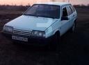 Подержанный ВАЗ (Lada) 2109, белый , цена 50 000 руб. в Кемеровской области, хорошее состояние