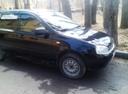 Подержанный ВАЗ (Lada) Kalina, черный , цена 210 000 руб. в Ульяновской области, хорошее состояние