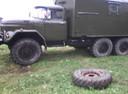Подержанный ЗИЛ 131, зеленый матовый, цена 300 000 руб. в Архангельске, хорошее состояние