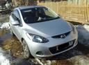 Подержанный Mazda Demio, серебряный , цена 330 000 руб. в Иркутской области, хорошее состояние