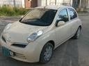 Подержанный Nissan March, желтый , цена 280 000 руб. в Челябинской области, хорошее состояние