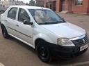 Подержанный Renault Logan, белый , цена 235 000 руб. в республике Татарстане, хорошее состояние