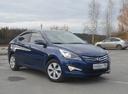 Подержанный Hyundai Solaris, синий , цена 690 000 руб. в ао. Ханты-Мансийском Автономном округе - Югре, отличное состояние