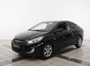 Подержанный Hyundai Solaris, черный, 2013 года выпуска, цена 507 000 руб. в Иваново, автосалон АвтоГрад Нормандия