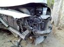 Подержанный Hyundai Elantra, серебряный металлик, цена 625 000 руб. в Нижнем Новгороде, битый состояние