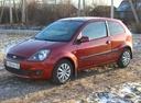 Подержанный Ford Fiesta, красный , цена 220 000 руб. в Пензенской области, хорошее состояние