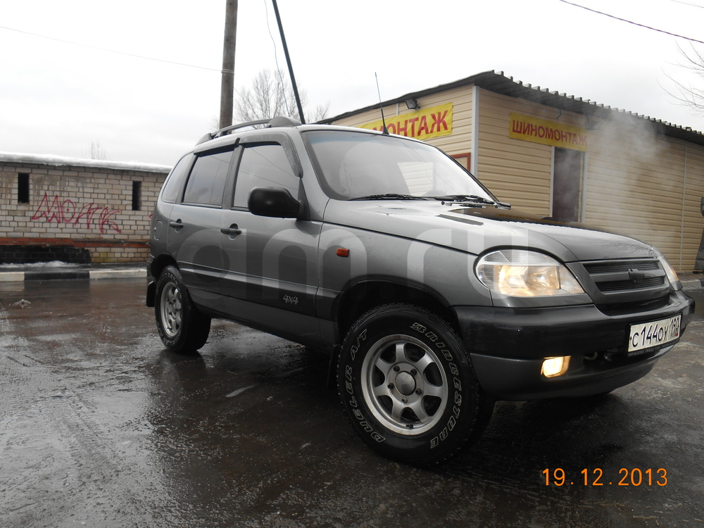 Chevrolet Niva 1.7 MT (80 л. с.)