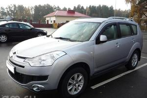Citroen C-Crosser 2.4 MT 4WD (170 л. с.)