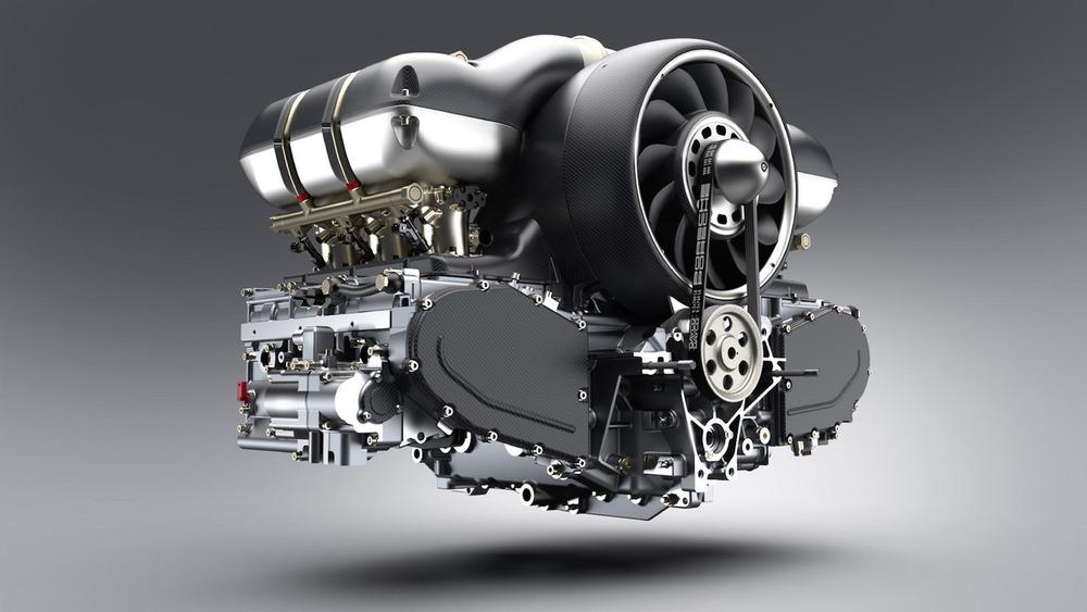 Инженеры «Формулы 1» оснастят старый Porsche уникальным 500-сильным двигателем