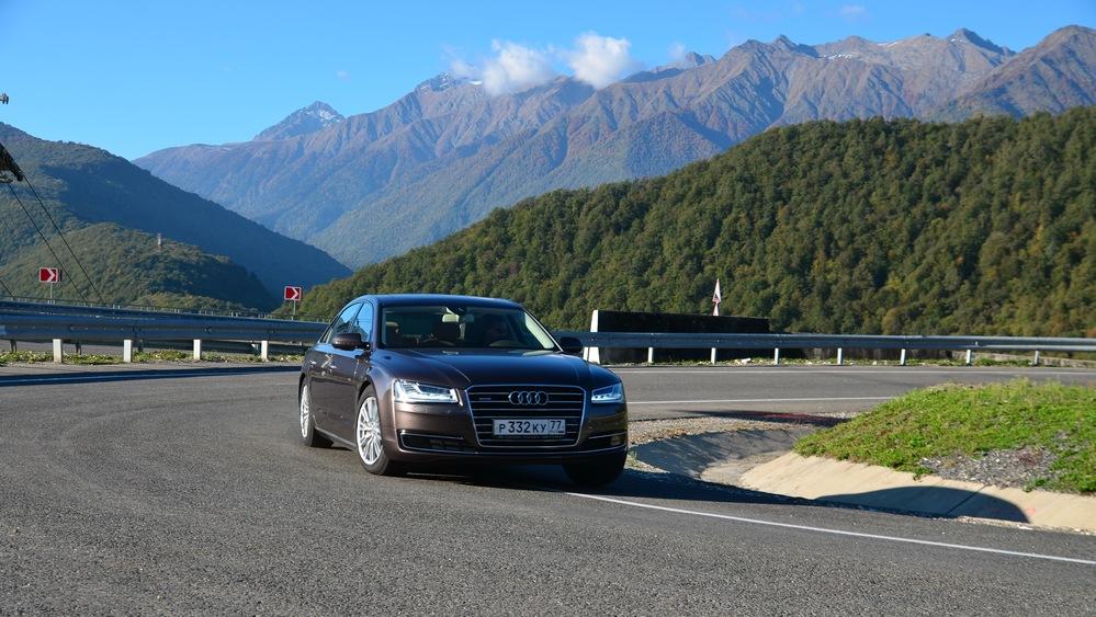 Тест-драйв Audi A8L