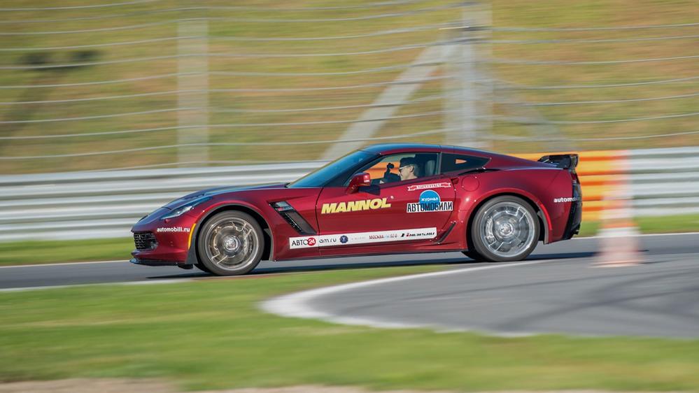 Тест-драйв Chevrolet Corvette Z06 на треке – читать и смотреть фото на Am.ru