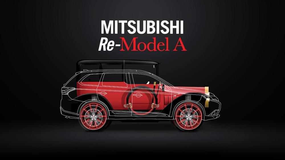 ВЛос-Анджелесе дебютирует возрождённый Митцубиши Re-Model A