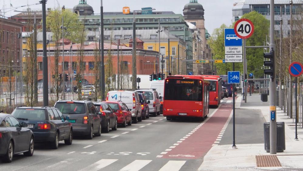 Власти Осло запретили въезд дизельных машин в центр города.