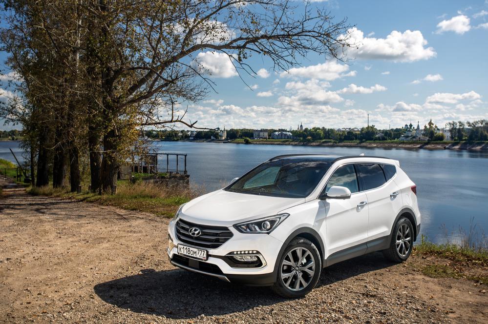 Тест-драйв Hyundai Santa Fe Premium – читать и смотреть фото на Am.ru