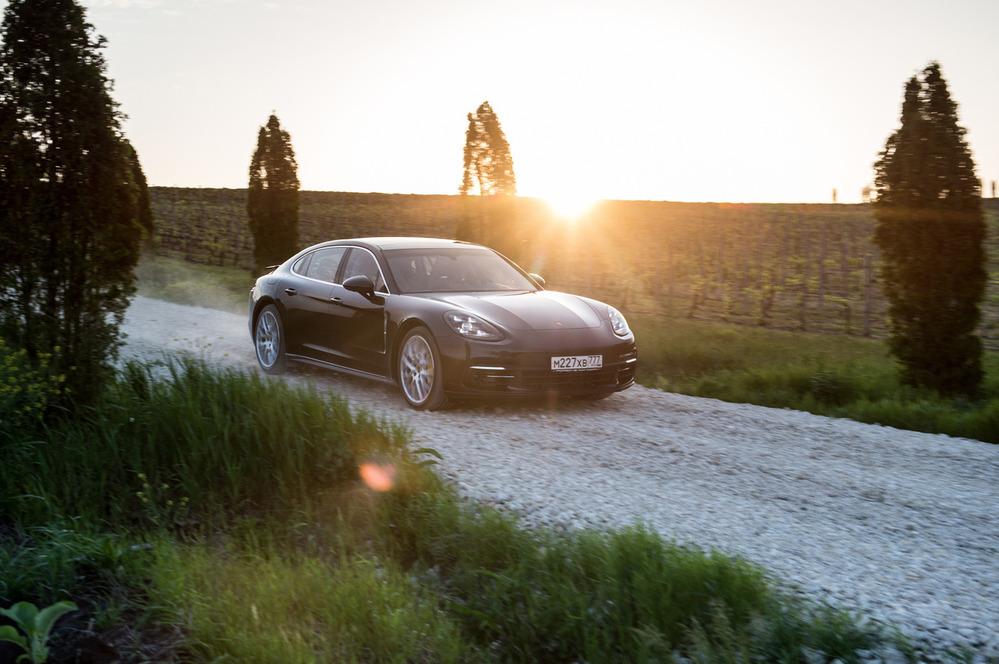Тест-драйв Porsche Panamera 4S и Panamera Turbo второго поколения – читать и смотреть фото на Am.ru