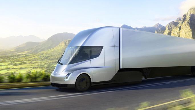 Илон Маск представил прототип электогрузовика отTesla