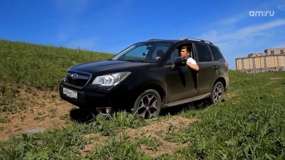 Лесник с улиткой: тест-драйв Subaru Forester от Антона Автомана - Журнал am.ru