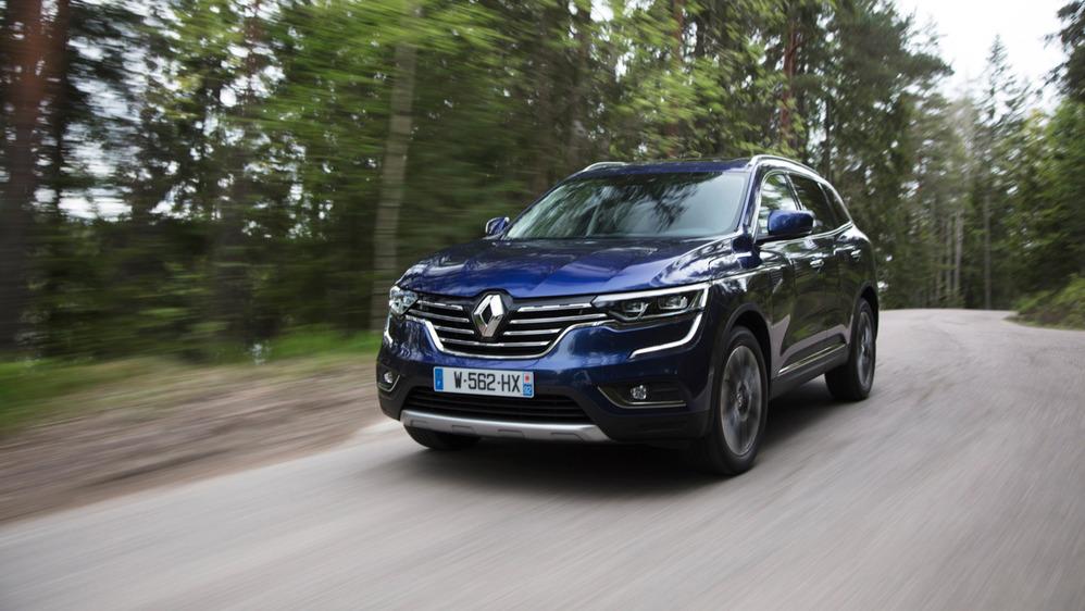 Тест-драйв Renault Koleos второго поколения – читать и смотреть фото на Am.ru