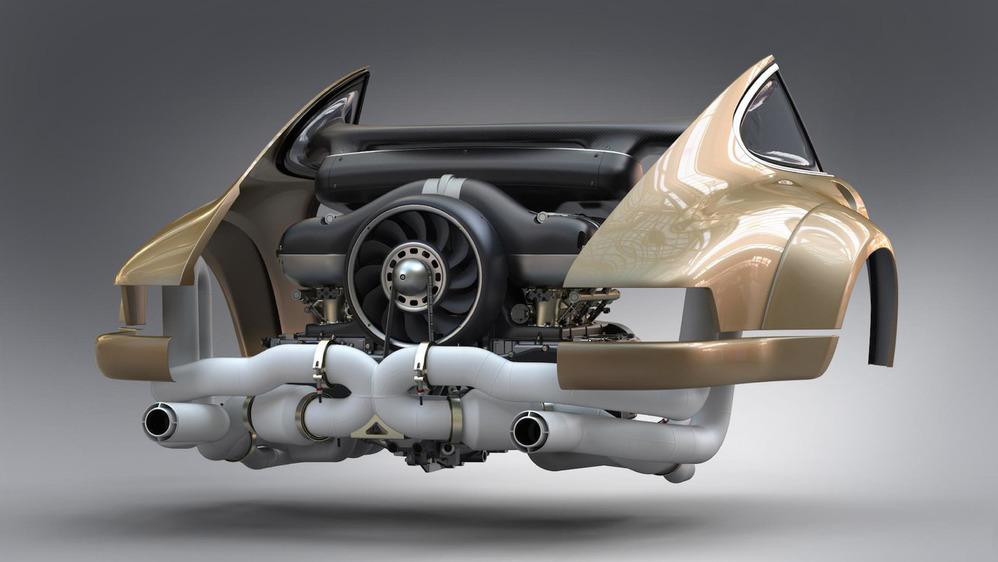 Инженеры «Формулы 1» построили неповторимый мотор для старого Порш