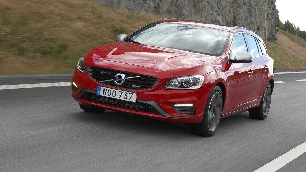 Тест-драйв гибрида Volvo V60 Plug-in-Hybrid