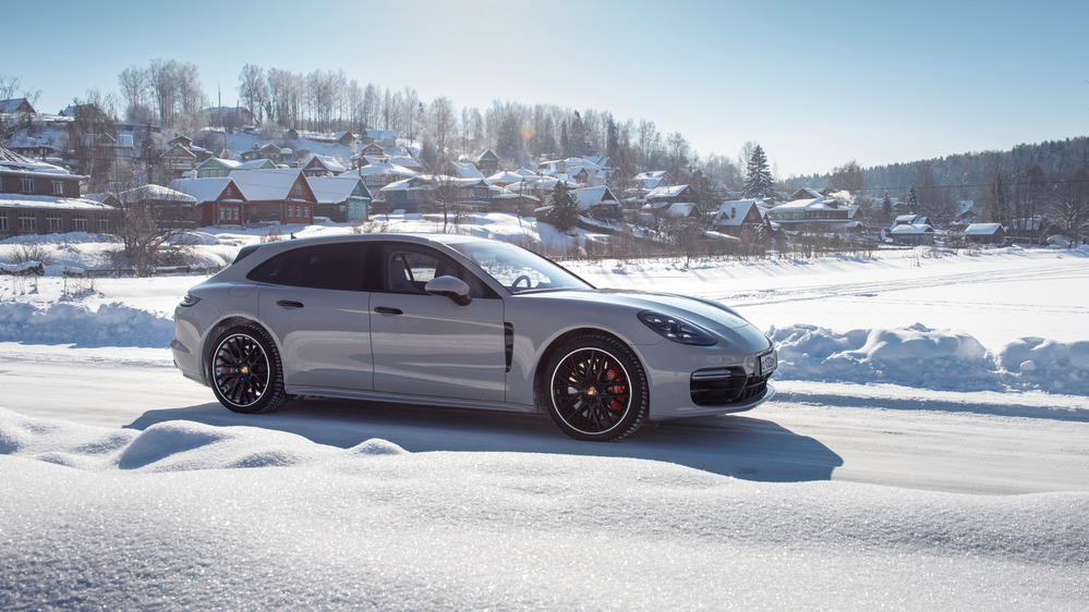 Зимний тест-трип Porsche Panamera Sport Turismo.