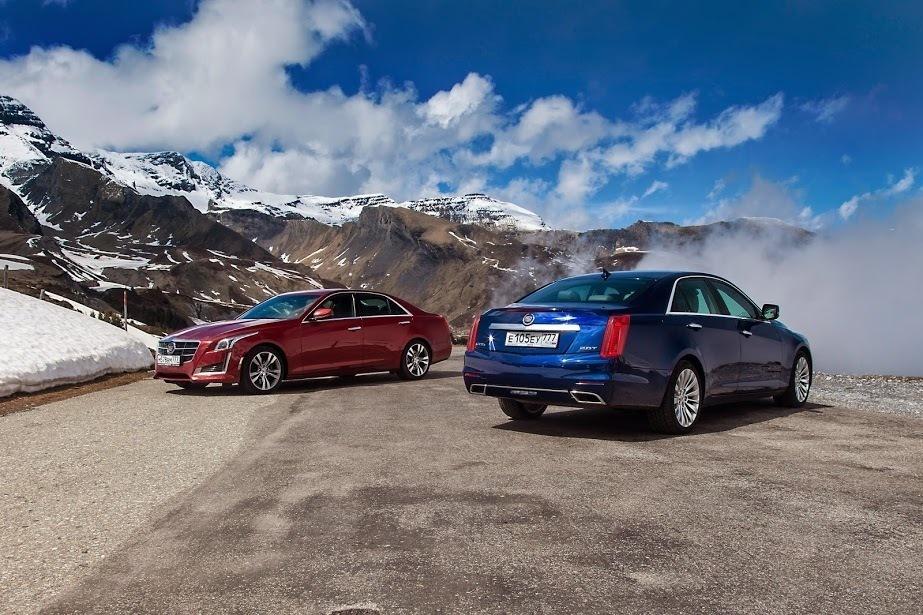 Тест-драйв Cadillac CTS: Борзон Хиггса - Журнал am.ru