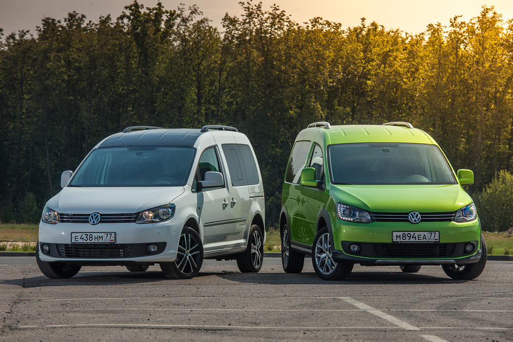 Тест спецверсий Volkswagen Caddy Edition 30 и Cross