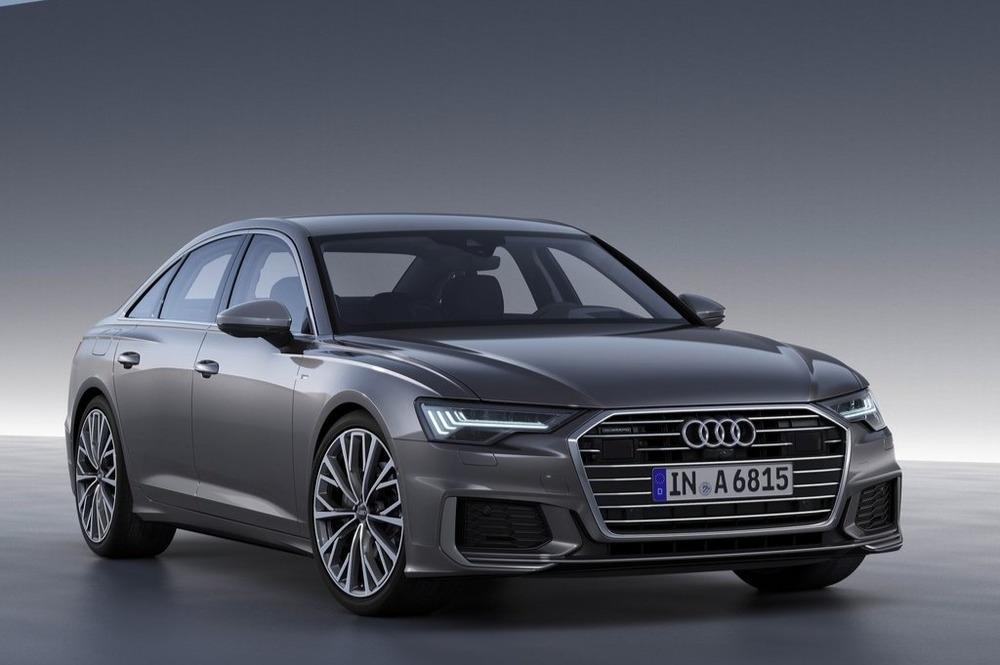Компания Audi опубликовала официальный тизер к седану A6 нового поколения