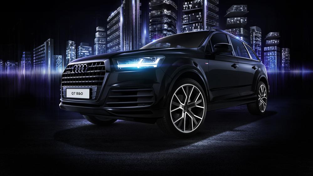 В Российской Федерации начались продажи эксклюзивной версии Ауди Q7