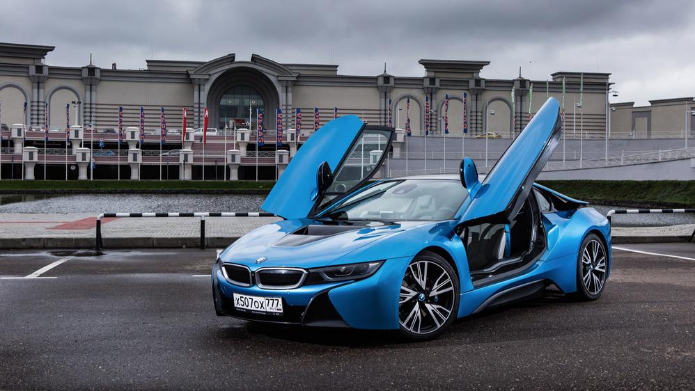 Тест-драйв BMW i8 от Am.ru