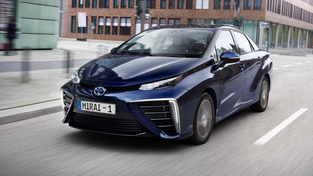 Все Toyota Mirai отзовут для обновления программного обеспечения.