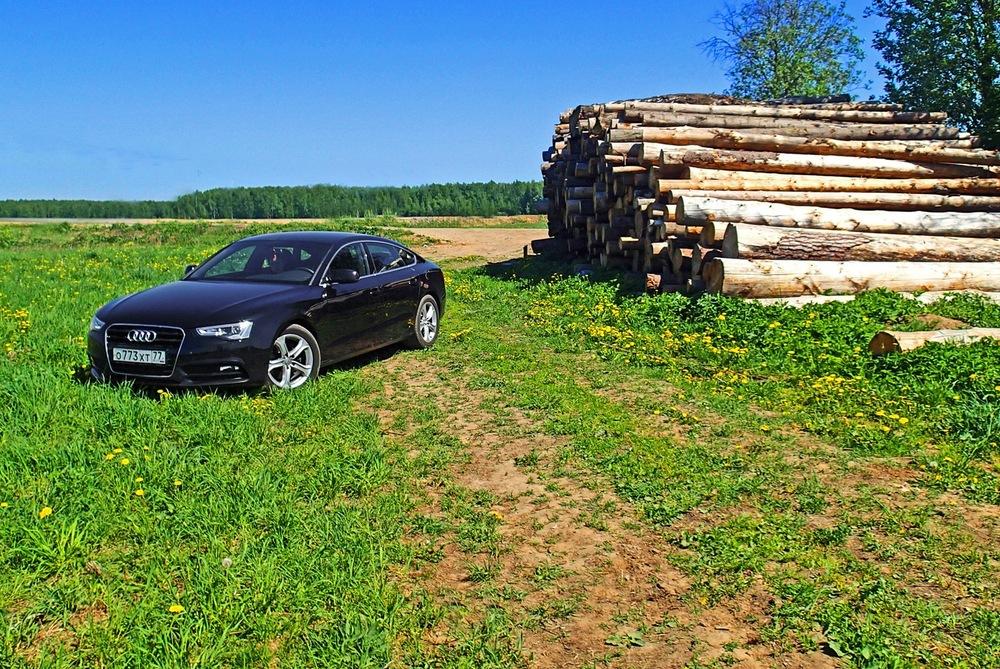 «Голый» премиум: тест-драйв Audi A5 Sportback - Журнал am.ru