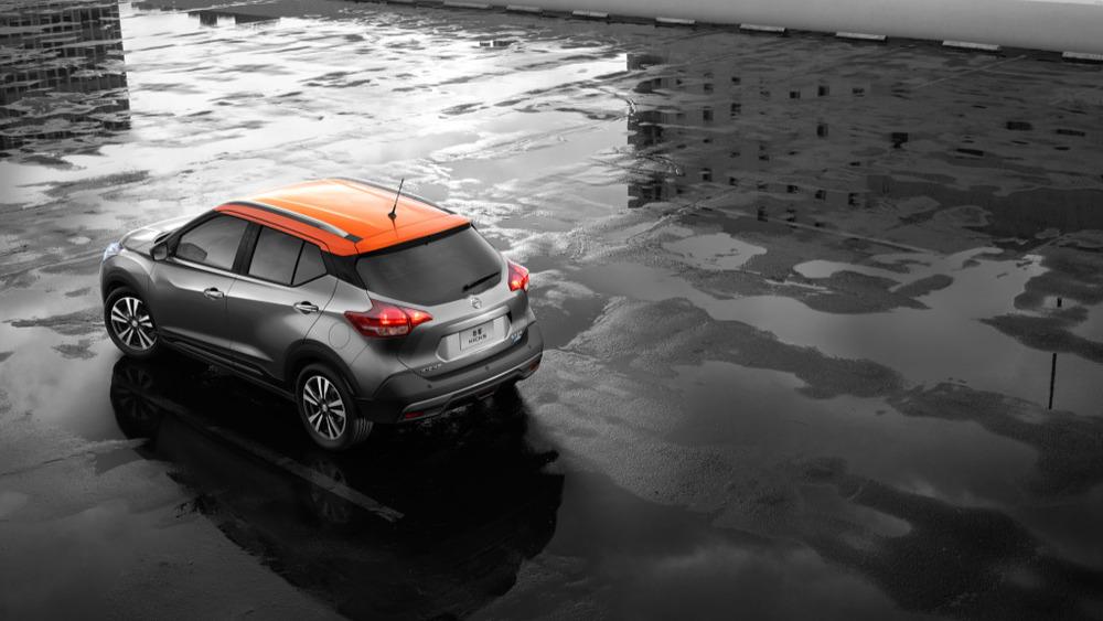 Nissan Kicks слекга улучшили для Поднебесной.