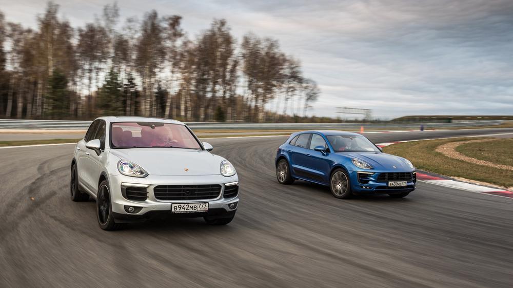 Porsche Cayenne S, Porsche Macan Turbo