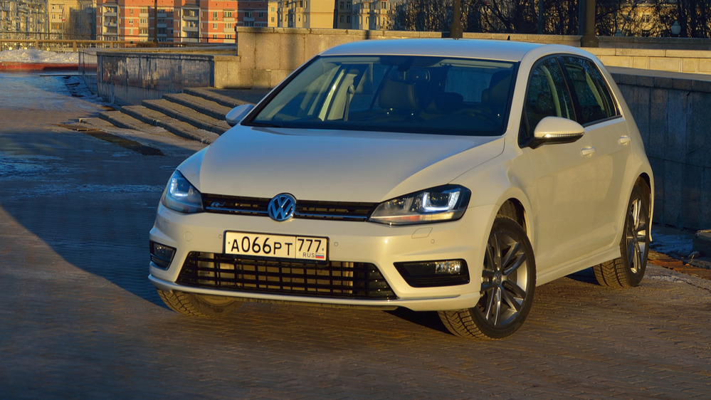 Тест-драйв Volkswagen Golf VII от Am.ru