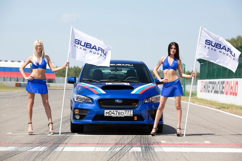 Тест-драйв на треке Subaru WRX STI: хочу еще - Журнал am.ru